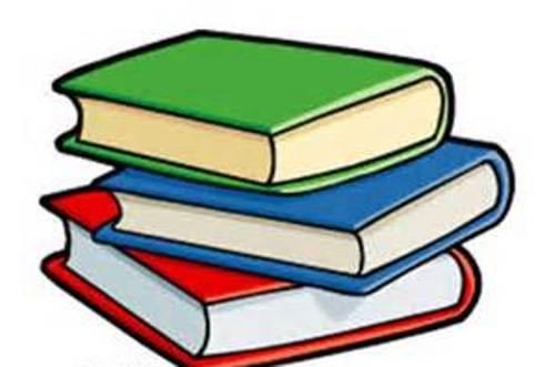 500x331 Book Clipart Line Art