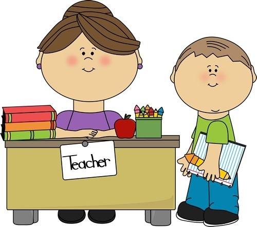 500x442 Teacher Helper Clipart Letters Example