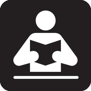300x300 Library Black Clip Art