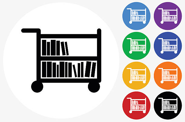 612x404 Library Clipart Cart