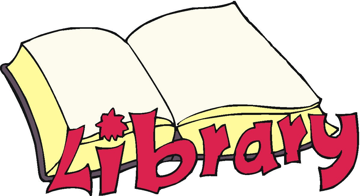 1200x655 Library Sign Clipart