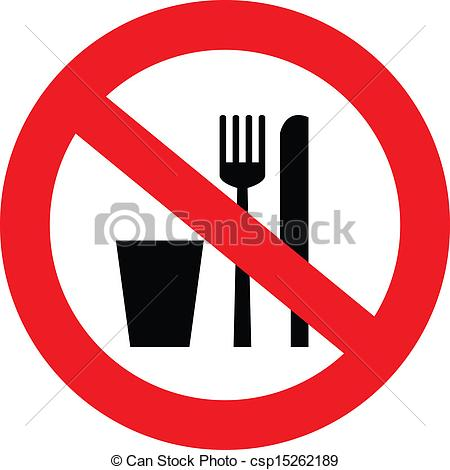 450x470 No Food Or Drink Clipart