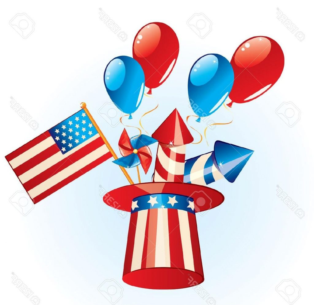 1024x995 Top Fireworks Clipart Fourth July Library