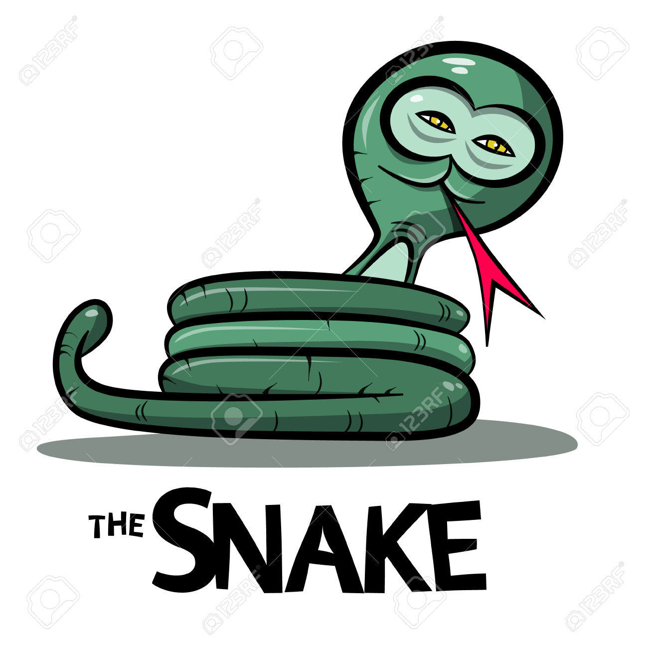 1300x1300 Anaconda Clipart Snake Tongue