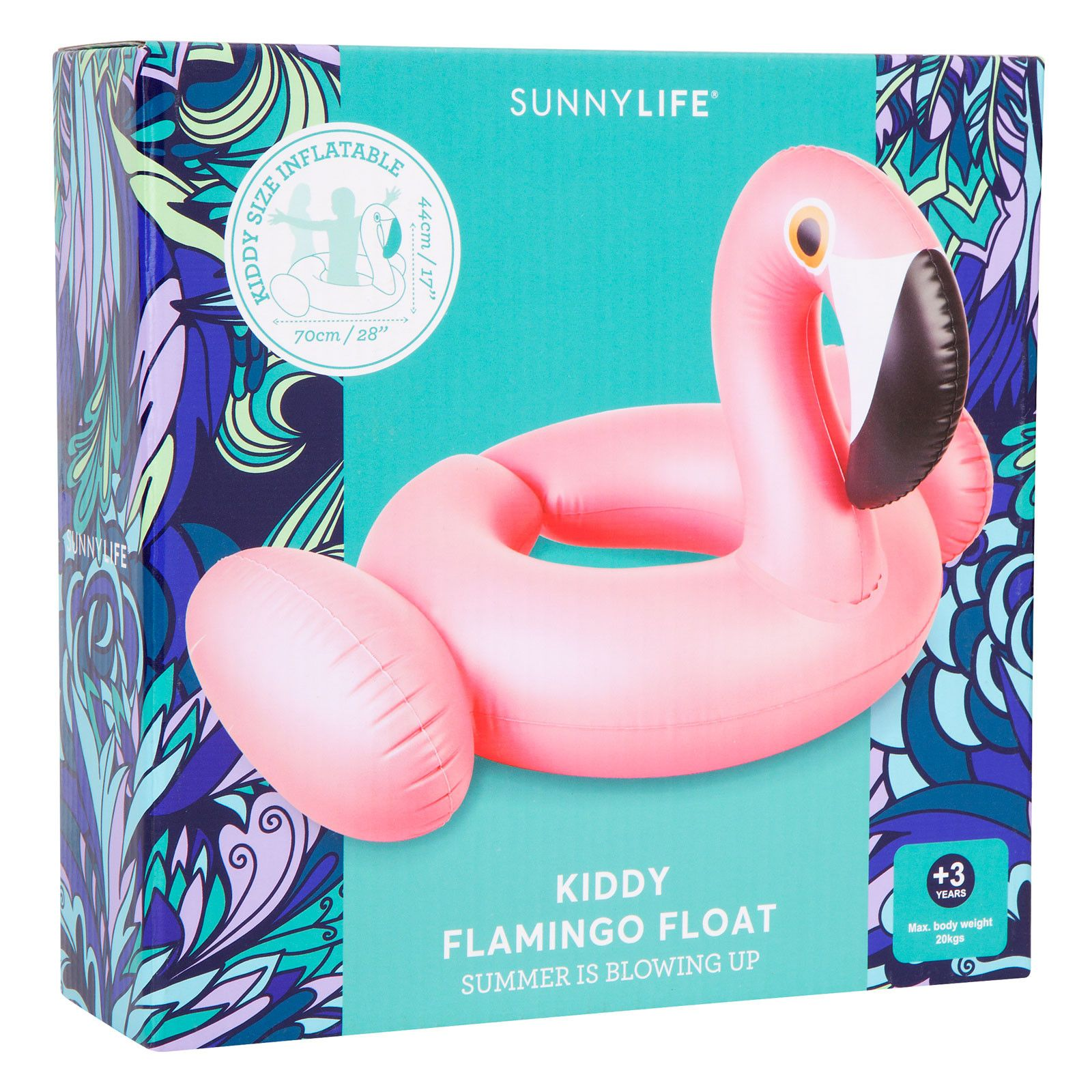 1600x1600 Flamingo Kiddy Float