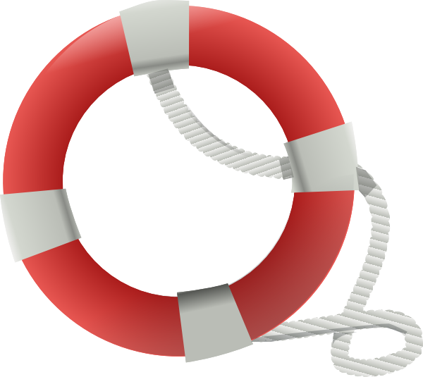 600x535 Life Saver Float Clip Art