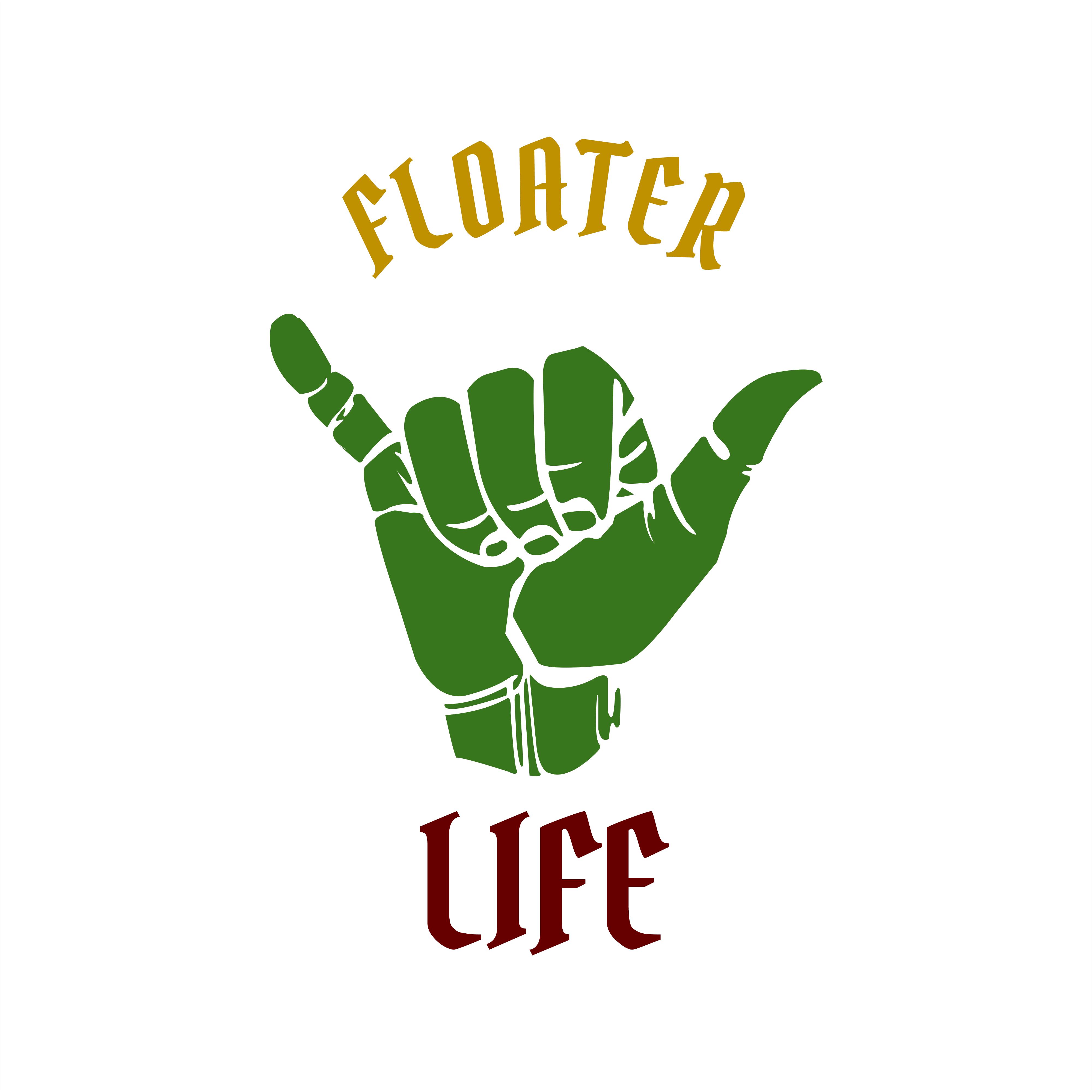 4000x4000 Rasta Floater Life Tee