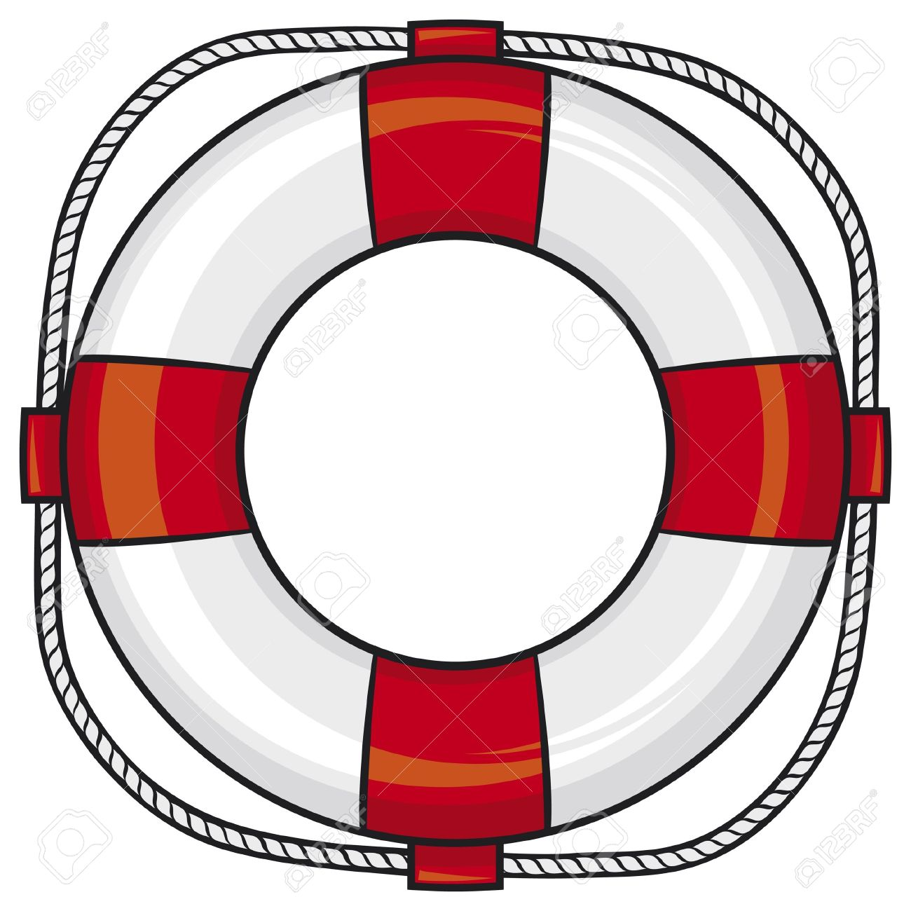 1300x1300 Floating Clipart Life Preserver