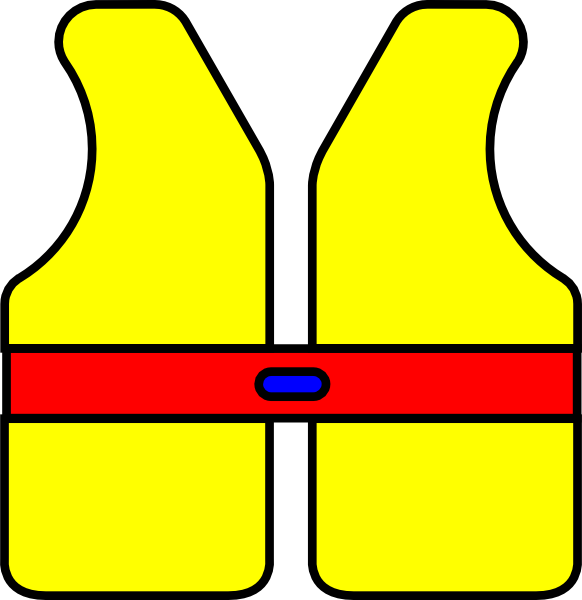 582x600 Life Jacket Float Clip Art