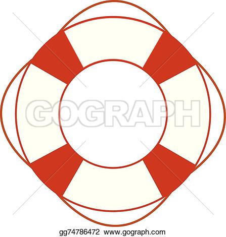 447x470 Life Saver Ring Clipart