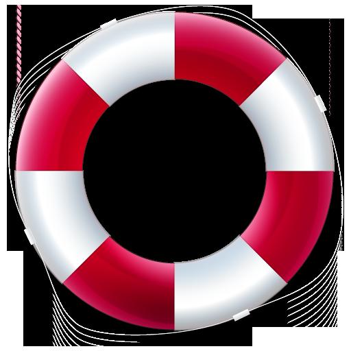 512x512 Life Preserver Logo Icon Free Icons Download