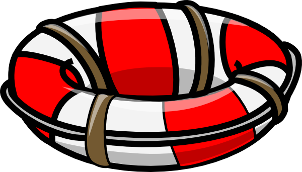 600x342 Floating Clipart Lifeboat
