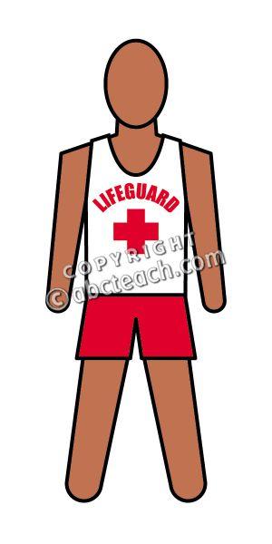 300x600 Lifeguard Clip Art Free Cliparts