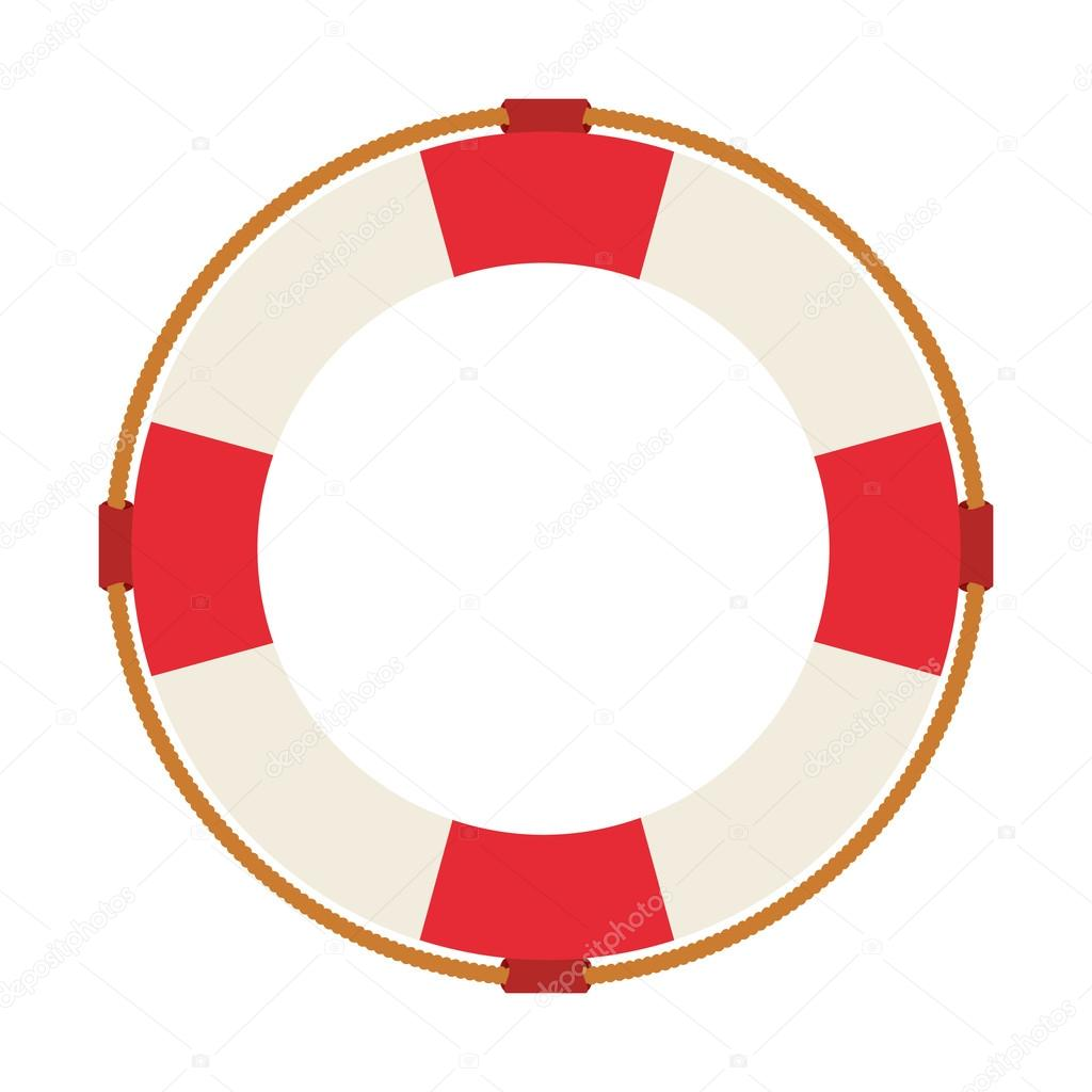 1024x1024 Lifeguard Float Isolated Icon Design Stock Vector Yupiramos