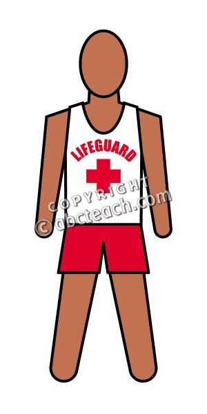 300x600 Clipart Lifeguard