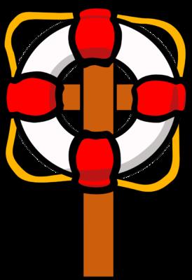 274x400 Image Life Preserver Cross Cross Image