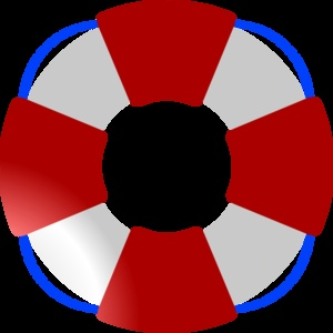 300x300 Blue Clipart Lifesaver