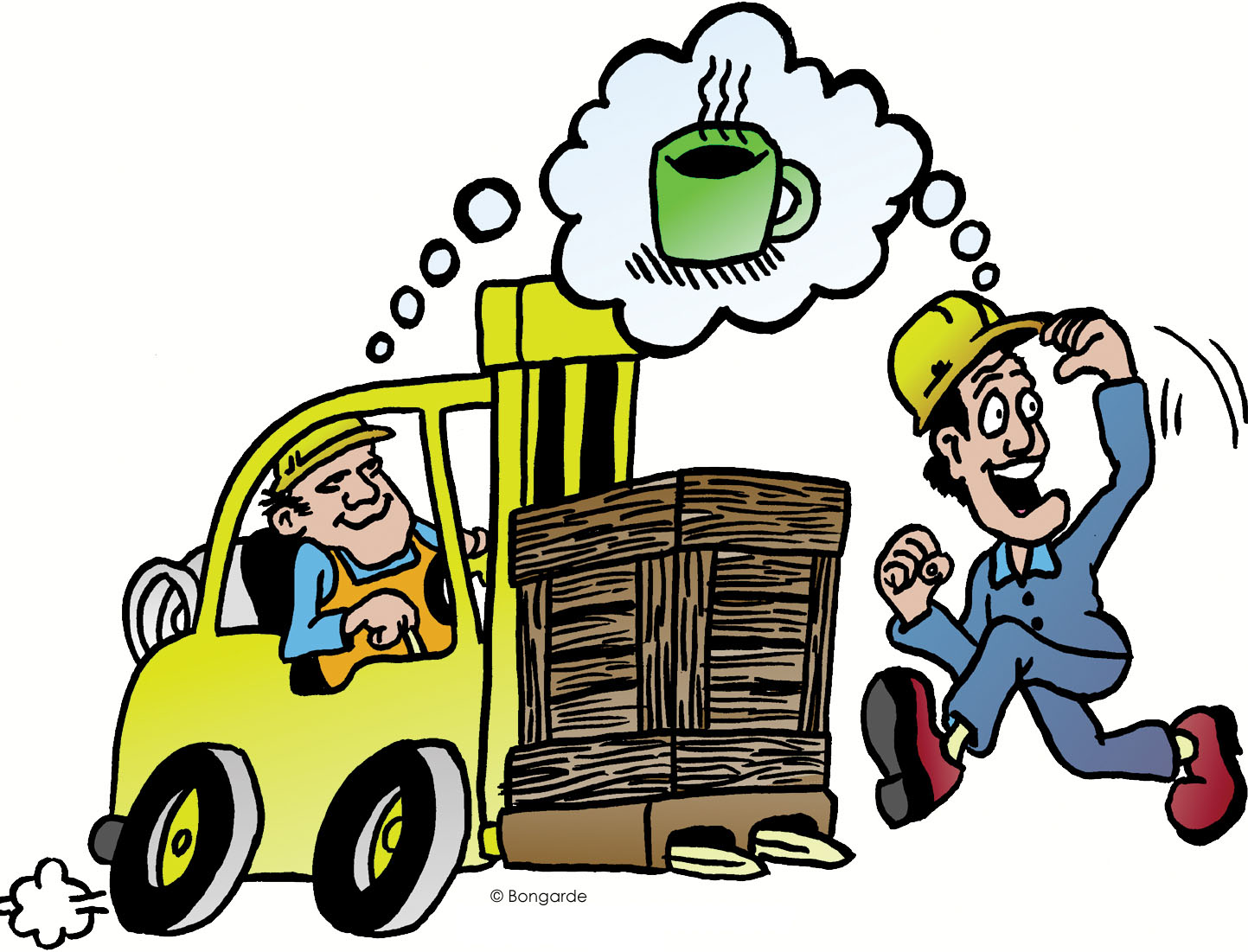 1443x1101 Lift Truck Safety Clipart