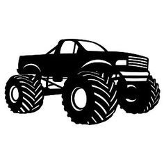 236x236 Monster Truck Clipart