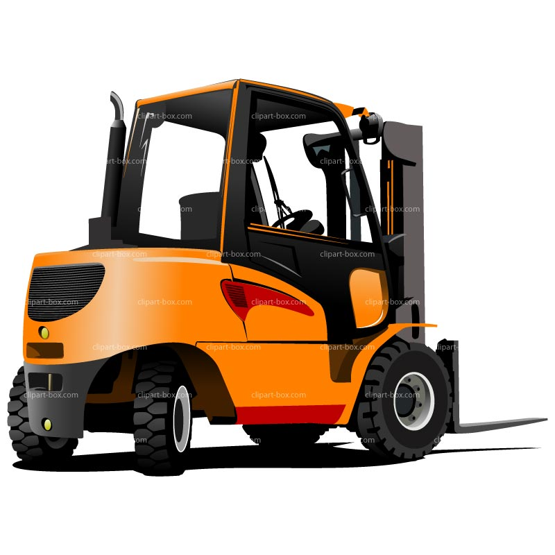 800x800 Powered Lift Truck Clipart