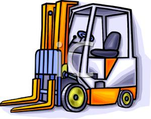 300x237 Animated Fork Lift Clipart
