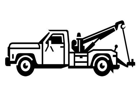 474x342 Tow Truck Clip Art