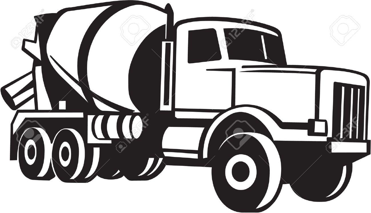1300x749 Truck Clipart Vector