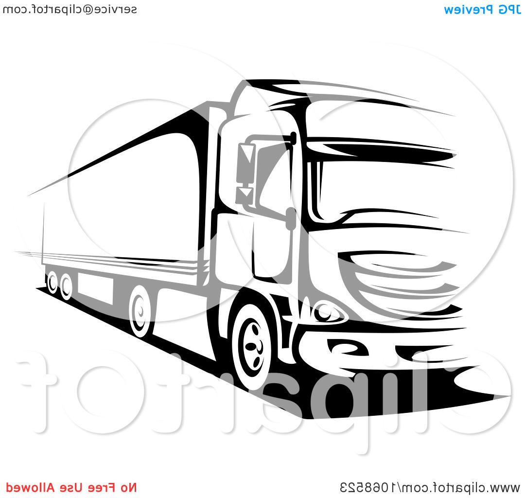 1080x1024 Unique Truck Clipart Vector Pictures