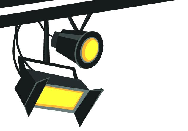 632x440 Light Clipart Theater Light