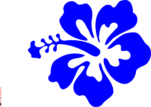 600x424 Wallpaper Clipart Blue Flower