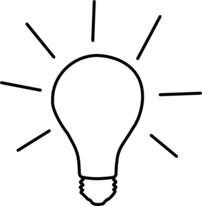 294x299 Idea Light Bulb Clip Art