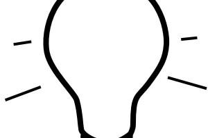 300x200 Light Bulb Clipart Funny