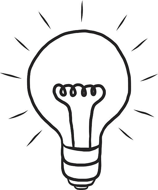 511x612 Light Bulb Clipart Sketched