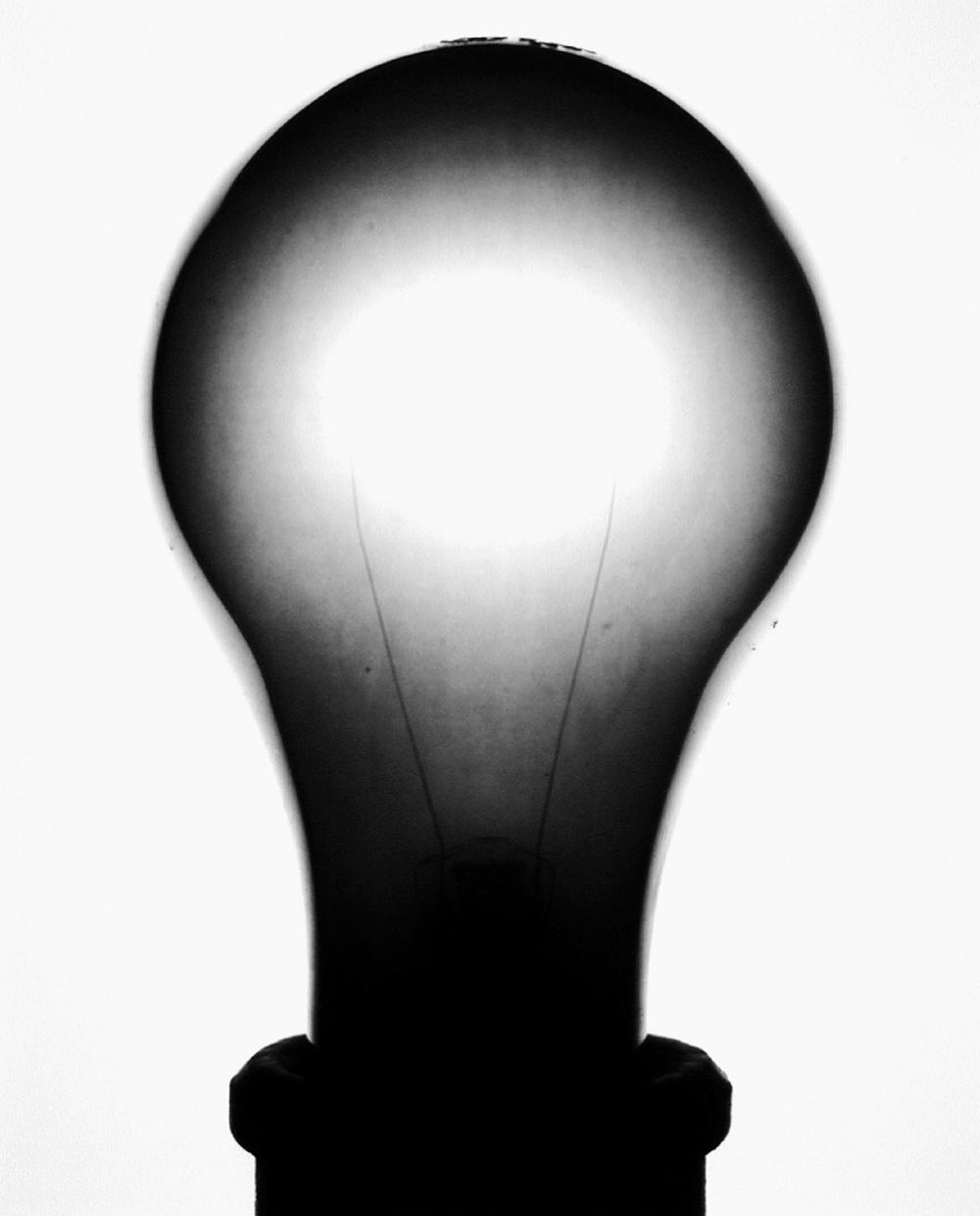 1000x1241 Black Amp White Light Bulbs Amanda Means