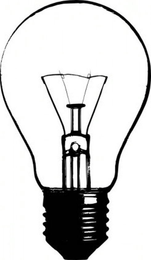 490x840 Lightbulb Idea Light Bulb Clip Art