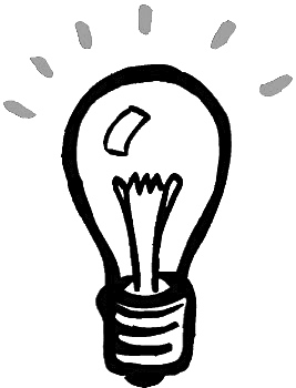 267x350 Drawn Light Bulb Cartoon
