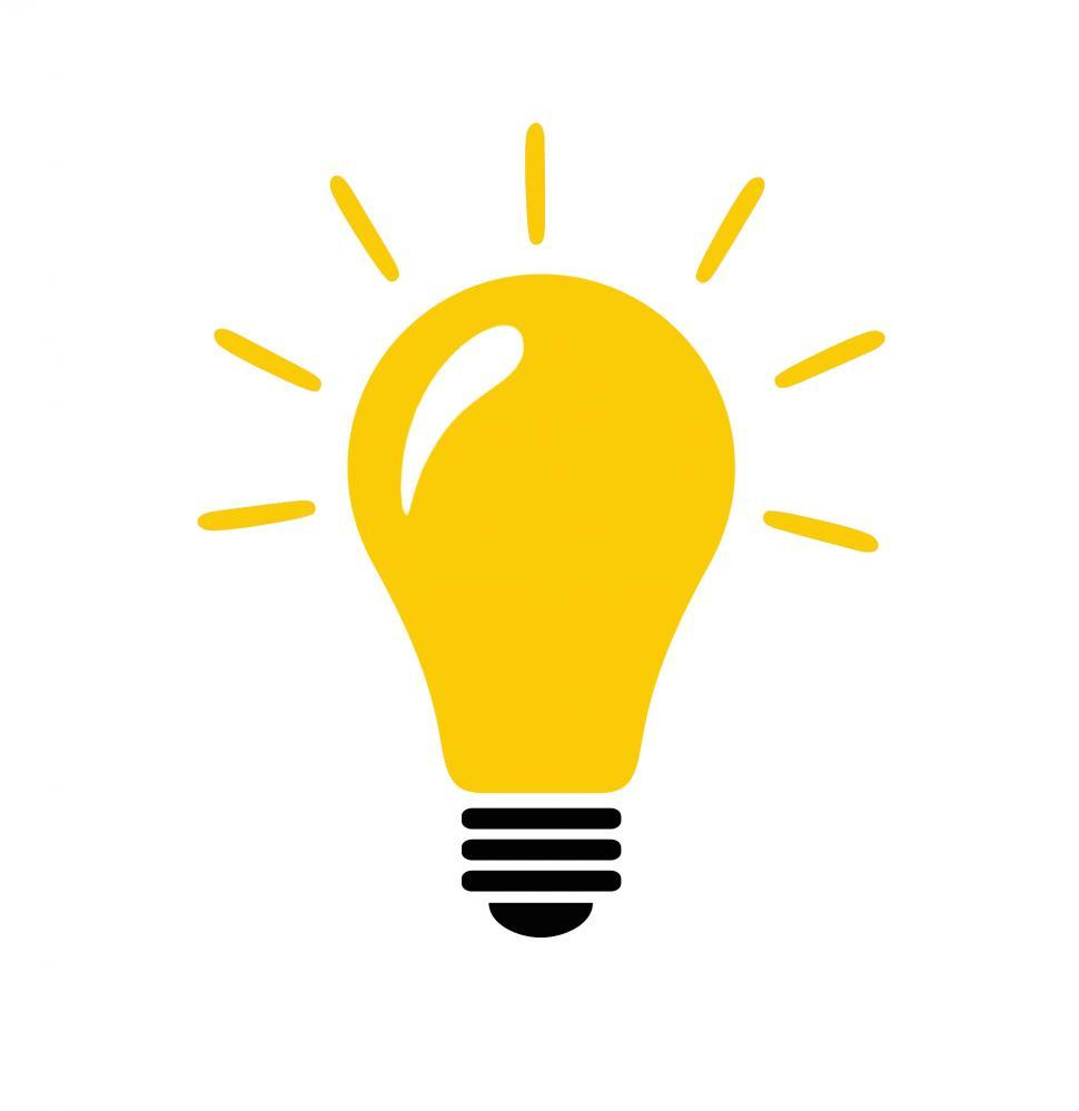 970x999 Free Stock Photo Of Lightbulb With Idea Concept Icon And Light