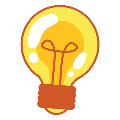 512x512 Light Bulb Cartoon