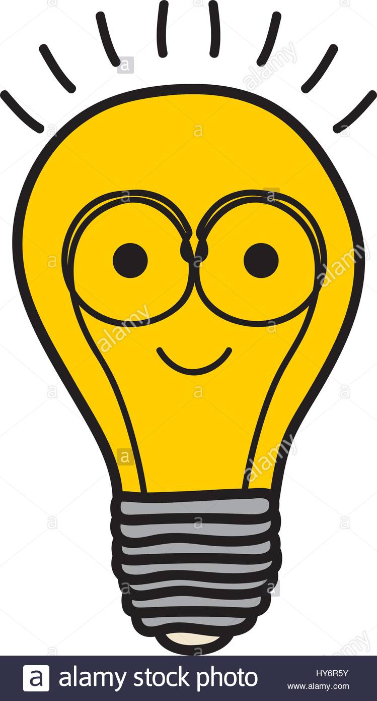 749x1390 Color Background Of Light Bulb Filament In Shape Cartoon