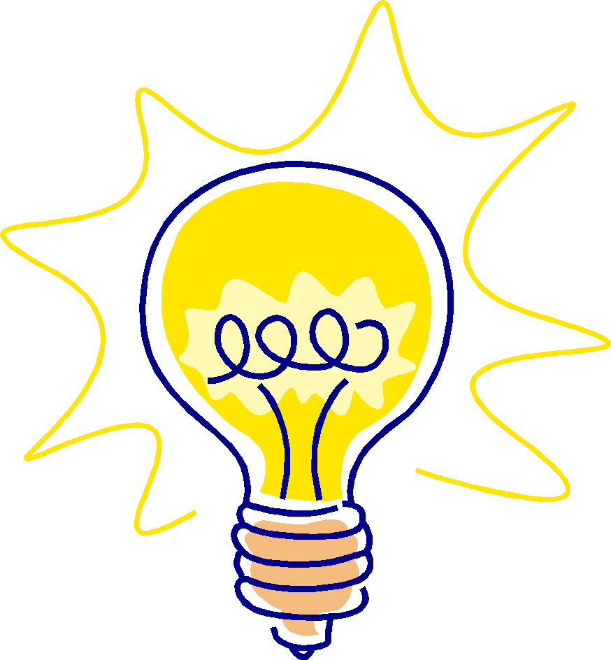 874x944 Light Bulb Cartoon Www. Clipart Panda