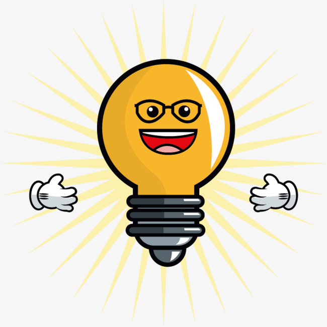 650x651 Cartoon Light Bulb Vector, Creative, Light Bulb, Cartoon Png