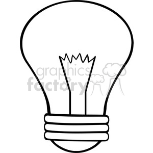 300x300 Royalty Free 6001 Royalty Free Clip Art Cartoon Light Bulb 389183