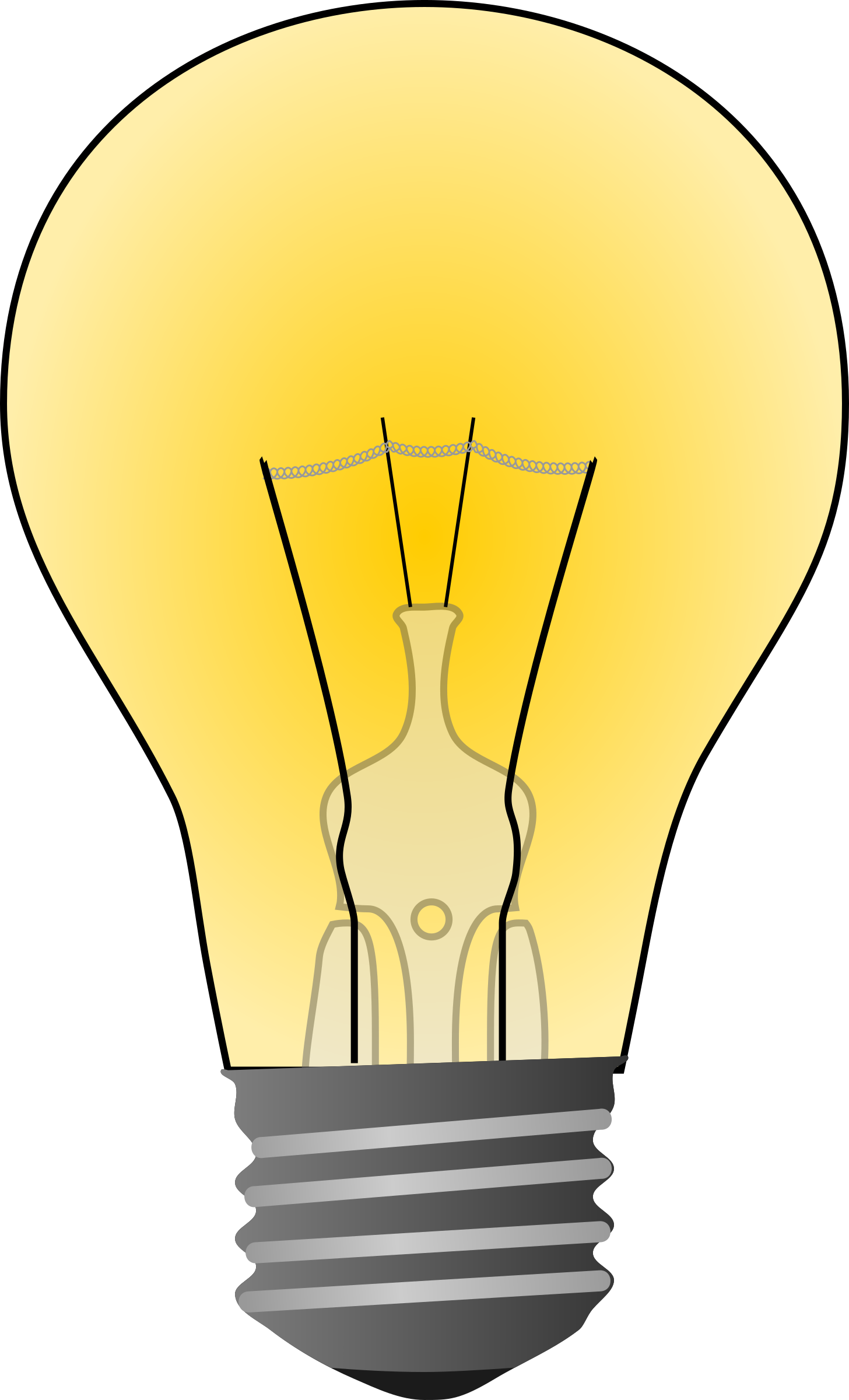 1456x2400 Microsoft Clipart Light Bulb