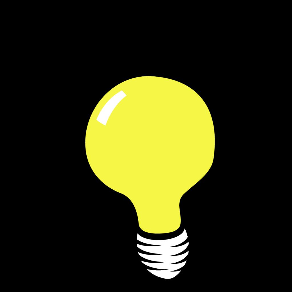 1024x1024 First Class Light Bulb Clip Art Lightbulb Thinking Clipart Panda