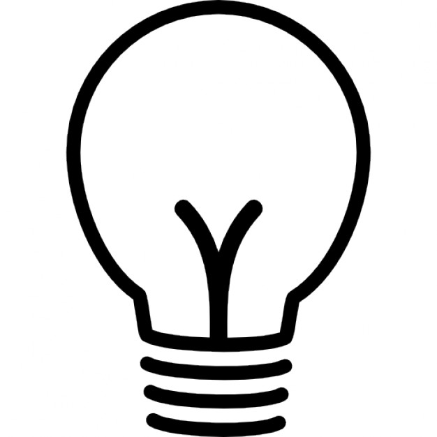 626x626 Light Bulb Outline Vectors, Photos And Psd Files Free Download