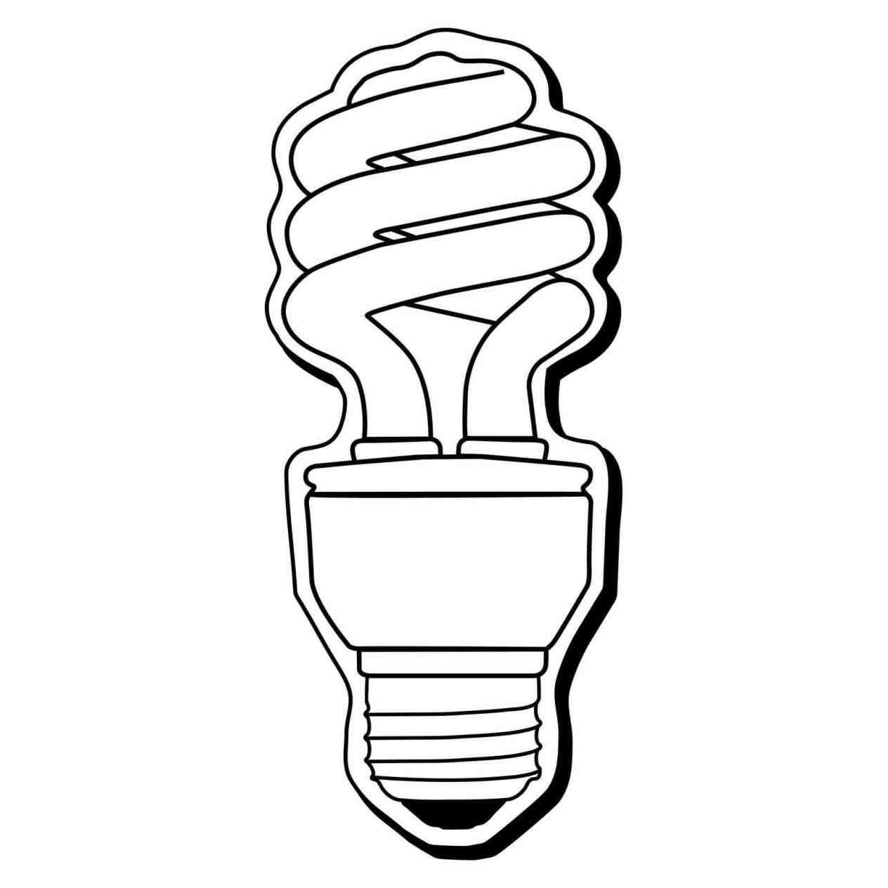 1264x1264 Light Bulbs Drawn