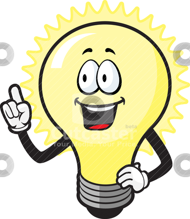 389x450 Light Bulb Idea Clipart