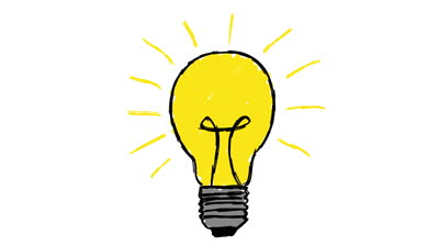 400x224 Light Bulb Clipart Animated