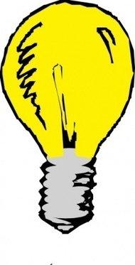190x373 Lit Light Bulb Clip Art Download 1,000 Clip Arts