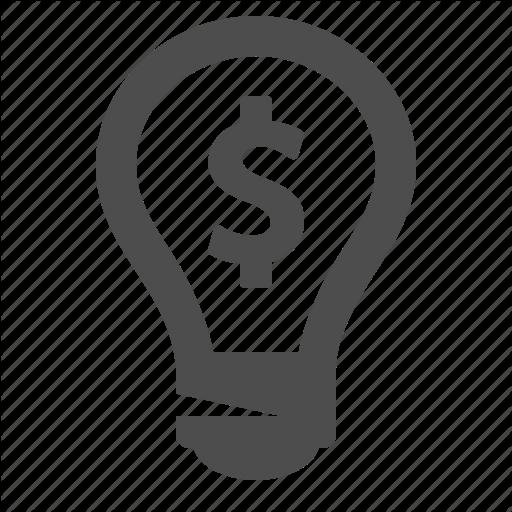 512x512 Business, Dollar, Finance, Idea, Investment, Light Bulb Icon